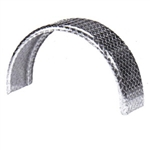 Aluminum Round Single Axle Fender