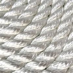 Yacht Brd Rope 1/4 Wht Poly