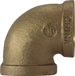 Elbow Pipe 1-1/2in 90 Deg Bronze