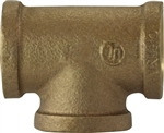Tee Pipe 1-1/4in Bronze