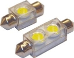 Bulb LED Festoon 1-1/2in Wht