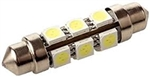 Bulb LED Festoon 1-1/4in Wht