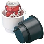 Drink Holder 3-3/4 Blk Recessed