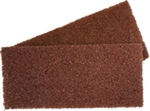 Scrub Pad 4x10x1 Brown Course 2p