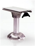 Pedestal w/slide & swivel