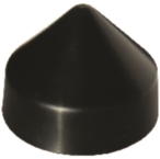 Piling Cap 8in Cone Black