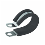 3/4in S/S Rubber Insulated Clamp