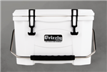 Grizzly 20 White Cooler