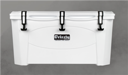 Grizzly 75 White Cooler