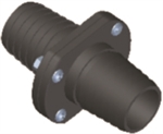 Inline Scupper-fits 1-1/8in hose