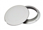 6 inch Inspection Plate Polar Wh