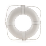 Ring Buoy 24in White