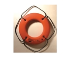 Ring Buoy 24in Orange