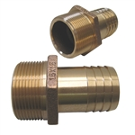 Straight .75x1.00 NPT Hose Adapter
