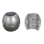 "1 1/8"" Shaft Egg Zinc Anode"