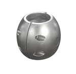 "2 1/4"" Shaft Egg Zinc Anode"