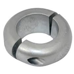 "1 1/8"" Donut / Shaft Collar Zinc Anode"