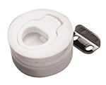 Nylon Slam Latch - White