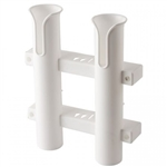 Rod Hldr 2-Pole Storage Wht