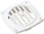 Flush Vent 3 in White