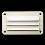 ABS Louvered Vent Wht..3 X 51/2
