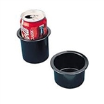 Drink Holder 3in Flush Mount Blk