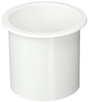 Drink Holder 3in wht Flush Mount