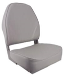 Seat, Gray High Back Econo Foldi
