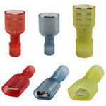 12-10 Male Vinyl Insulated Conn