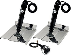 Trim Tab Kit Blk 9x12 W/Joy Stic