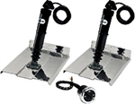 Trim Tab Kit Blk 9 x 9 W/Joy Sti