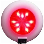 Surface Mount LED Accent Dome Light (9 Red LEDs)