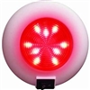 Surface Mount LED Accent Dome Light (White/ Red LED)