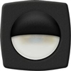 Recessed Companion Way LED Light (Black Cover/White LED)